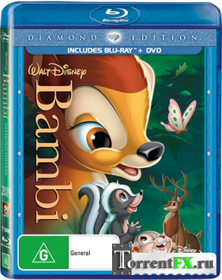 Бэмби / Bambi (1942) BDRip 1080p от Freeisland