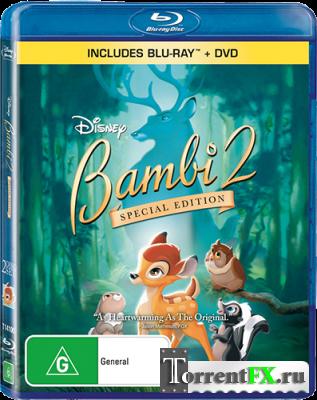 Бэмби 2 / Bambi II (2006) BDRip 1080p от Freeisland