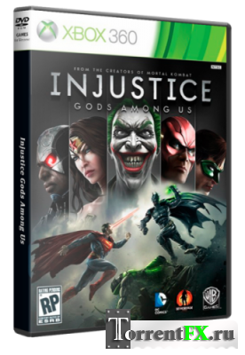 Injustice: Gods Among Us (2013/Ru) XBOX360 [LT+3.0]