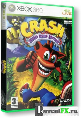 Crash Bandicoot: Mind Over Mutant (2008) XBOX360