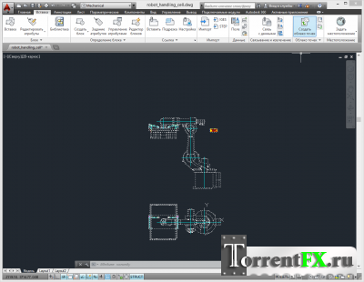 Autodesk AutoCAD Mechanical 2014 (2013) PC