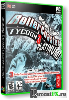 RollerСoaster Tycoon 3 Platinum (2007) PC | Лицензия