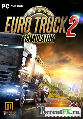 Euro Truck Simulator 2 [v 1.4.1s] (2012) PC | RePack