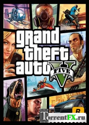 GTA 5 / Grand Theft Auto V (2013) PC, XBOX 360, PS3 | Геймплей