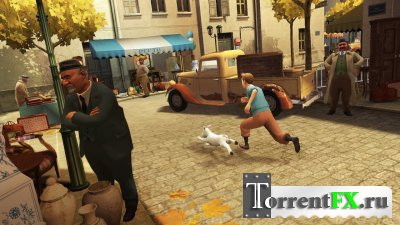 The Adventures Of Tintin: The Game (2011) PS3
