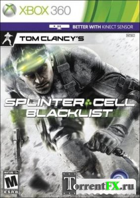 Tom Clancy's Splinter Cell: Blacklist (2013/En) XBOX360 [LT+3.0] +KINECT