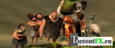 Семейка Крудс / The Croods (2013) WEBRip | Чистый звук
