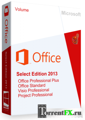 Microsoft Office Select Edition 2013 Rus