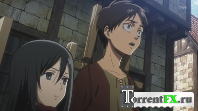Атака Титанов / Shingeki no Kyojin [TV+Special] [01-25 из 25] (2013) HDTVRip