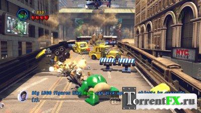 LEGO: Marvel Super Heroes (2013/Rus) Xbox 360 [LT+3.0]