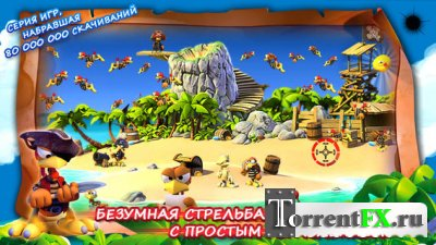 Crazy Chicken: Pirates v1.0.3 (2013) КПК
