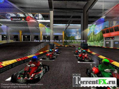 Картлэнд / Coronel Indoor Kartracing (2003) PC