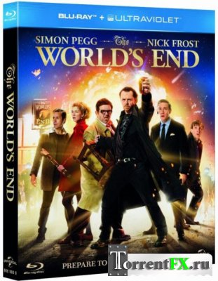 Армагеддец / The World's End (2013) HDRip