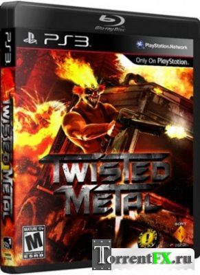 Twisted Metal / Скрежет металла [3.55] (2012) PS3