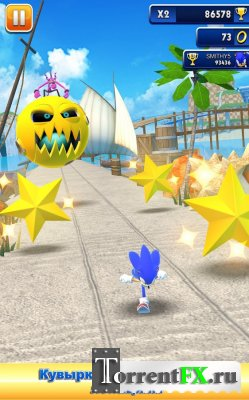 ����� ������ / Sonic dash (2013) Android
