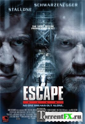 План побега / Escape Plan (2013) HDTVRip 720p