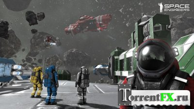 Space Engineers [v01.015.015] (2014) PC