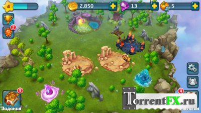 Земли драконов / Dragons world (2014) Android