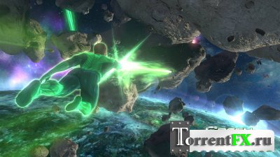 Green Lantern: Rise Of The Manhunters (2011) XBOX 360