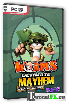 Worms: Ultimate Mayhem - Deluxe Edition [v 1077 + 3 DLC] (2011) PC