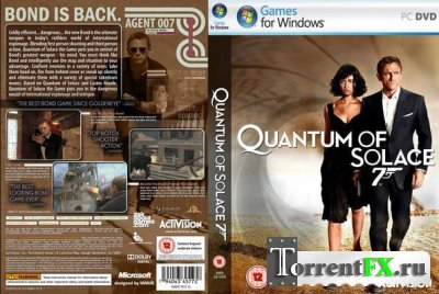 007: Квант милосердия / Quantum of Solace: The Game (2008) PC