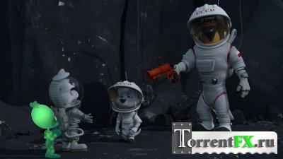 Белка и Стрелка: Лунные приключения (2013) BDRip