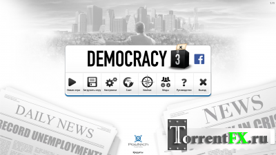 Democracy 3: Social Engineering (2013) PC
