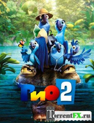 Рио 2 / Rio 2 (2014) DVDRip | Звук с TS