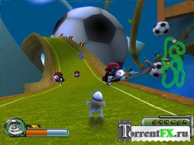 Crazy Frog Racer 2 (2006) PC | Лицензия