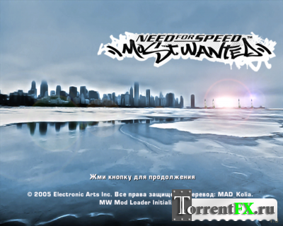 Need For Speed - Most Wanted Winter Mod 2014 (2005) PC