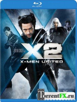 Люди Икс 2 (2003) BDRip-AVC от HQ-ViDEO