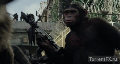 Планета обезьян: Революция (2014) WEB-DLRip | Чистый звук