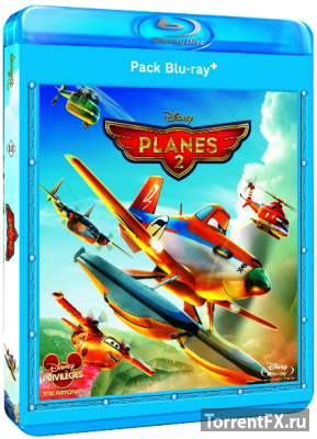 Самолеты: Огонь и вода (2014) BDRip 720p
