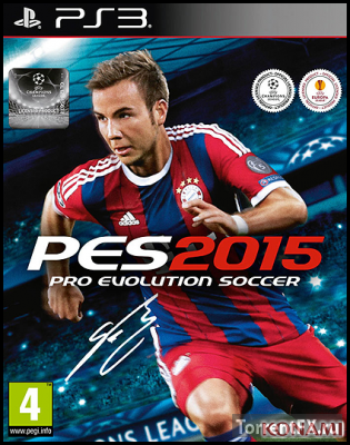 PES 2015 / Pro Evolution Soccer 2015 (2014/RU) PS3 [4.53+]