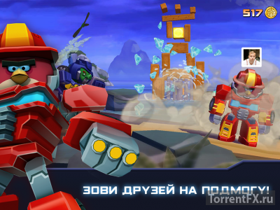 Angry Birds Transformers (2014) Android