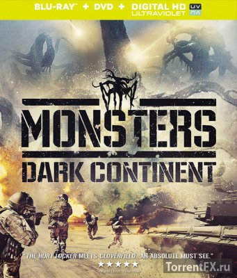 Монстры 2: Тёмный континент (2014) HDRip
