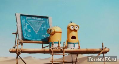 Миньоны (2015) HDTV 720p | Чистый звук