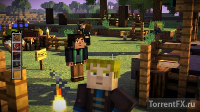 Minecraft: Story Mode - A Telltale Games Series. Episode 1 (2015)  Лицензия