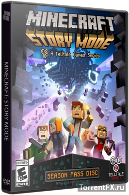 Minecraft: Story Mode - A Telltale Games Series. Episode 1-2 (2015) PC | Лицензия