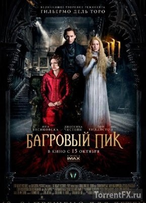 Багровый пик (2015) TS от Электричка | D