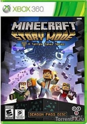 Minecraft Story Mode Episode 1 (2015) Xbox360 [FreeBoot]