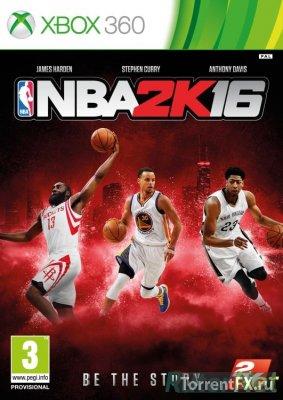 NBA 2K16 (2015/ENG) XBOX360 [LT+3.0]