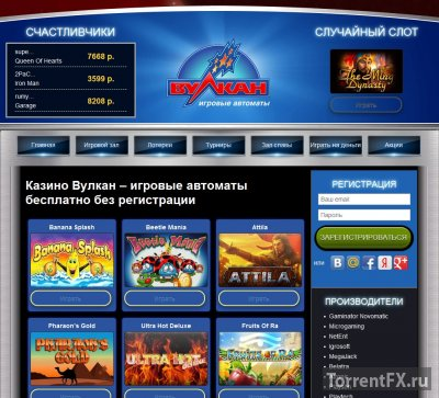 Игровые автоматы на vulkannet.com