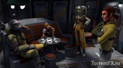 Звездные войны: Повстанцы 2 сезон 12,13 серия (2015) WEB-DLRip