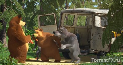 Маша и медведь (55 серия) Эх, прокачу! (2015) WEB-DLRip