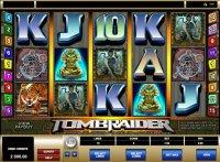 Игровой автомат Tomb Raider с выводом денег