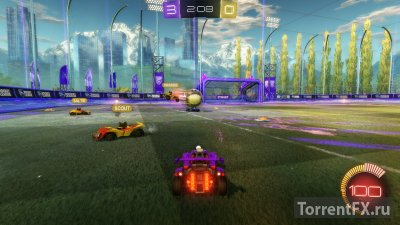 Rocket League [v 1.24 + 12 DLC] (2015) RePack от R.G. Механики