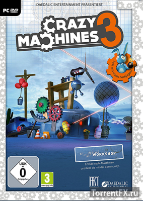 Crazy Machines 3 (2016) Лицензия