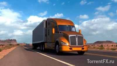 American Truck Simulator 1.5.1.3s + 10 DLC (2016) RePack от xatab