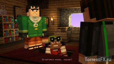 Minecraft: Story Mode - A Telltale Games Series. Episode 1-8 (2015) RePack от R.G. Механики